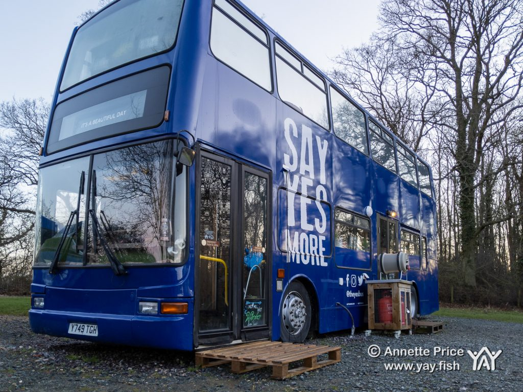 Wild camping course at the Yes Bus. Part of Say Yes More. West
