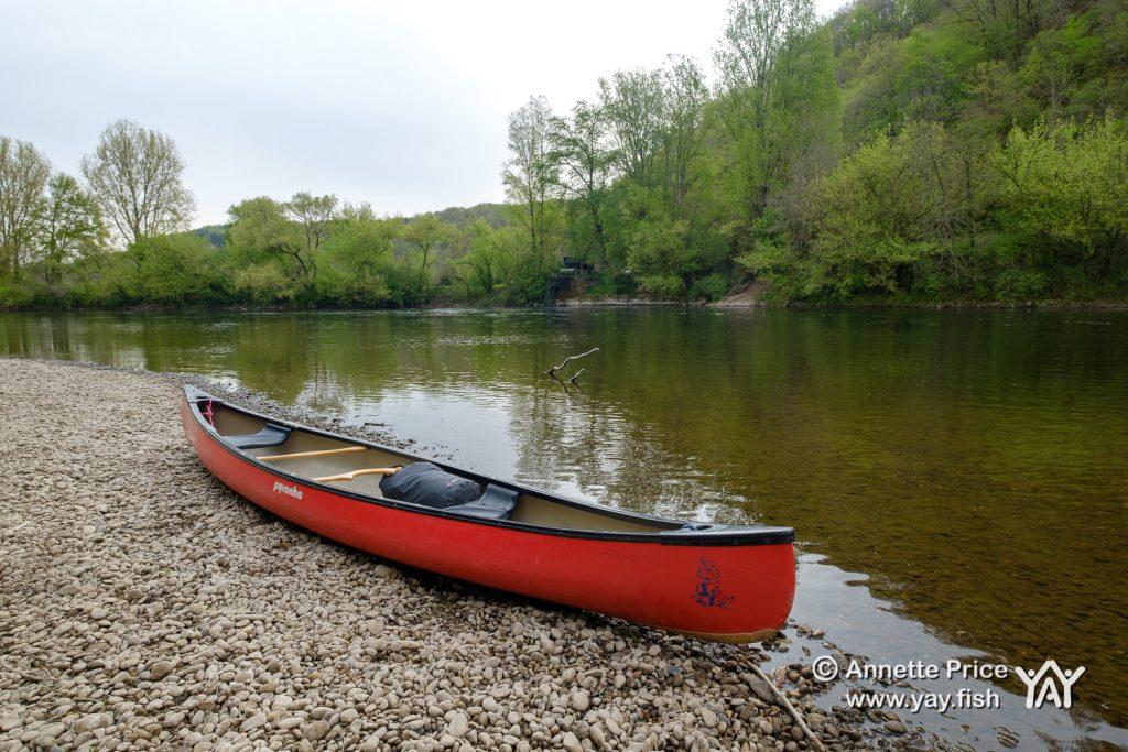 Wild camping along the River Dordogne France 18 4 19 25