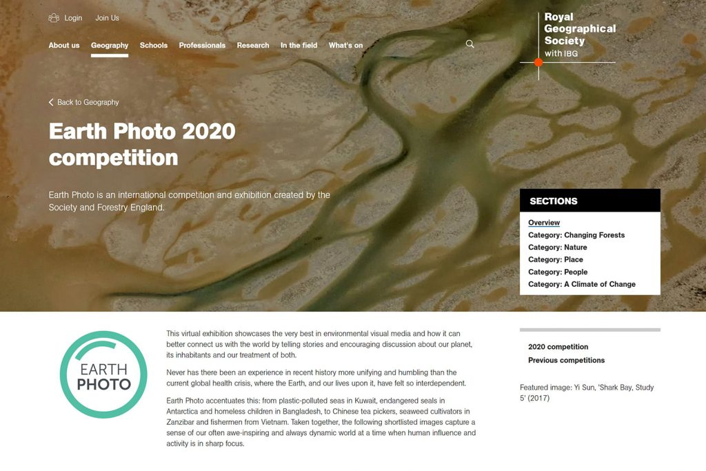 5o stunning environmental photographs, Earth Photo Photography exhibition at the Royal Geographic Society